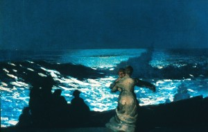 Winslow Homer.Summer Night (1890)